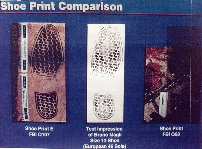 IMAGE: Shoe prints