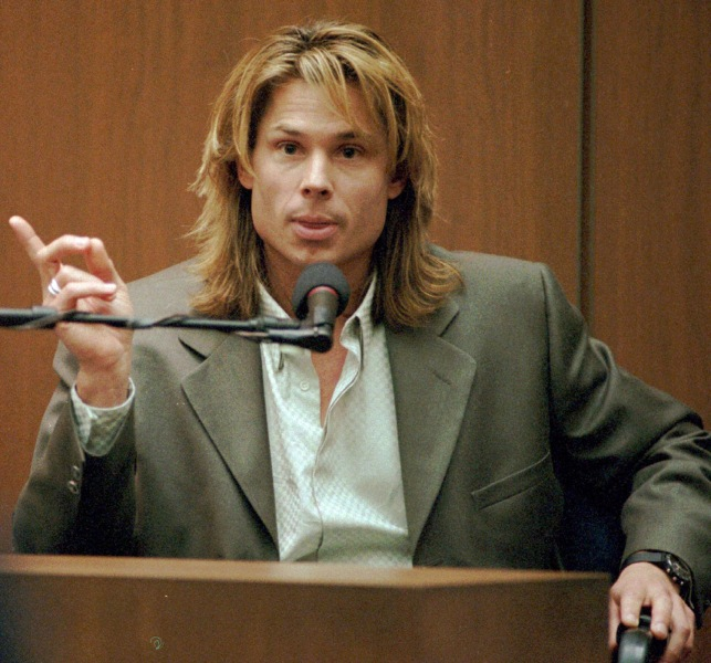 "Brian ""Kato"" Kaelin (here, testifying during the trial) is speaking out about how the event changed the course of his life."
