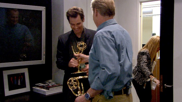 ...and his Emmy.