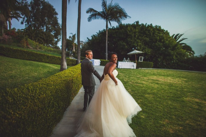 Charisse got married at the Bel-Air Bay Club in Los Angeles.