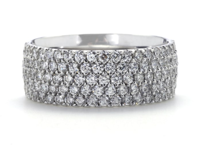Greenwich Ceremony Collection diamond band