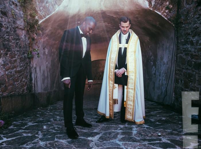 Image: Kanye West, Rich Wilkerson Jr.
