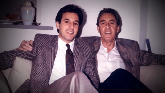 Matt and his father, J. Robert Lauer