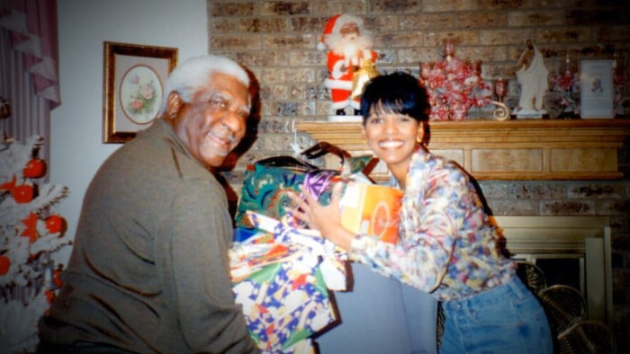 Tamron and her father, Clarence Newton Sr.