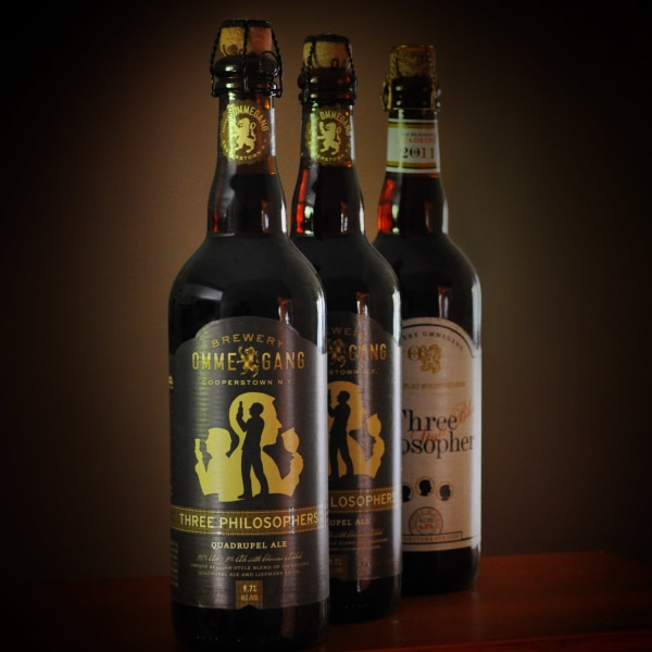 The Three Philosophers Cellared Set gives you a taste of what aging beers can do -- and you don't even need to wait.