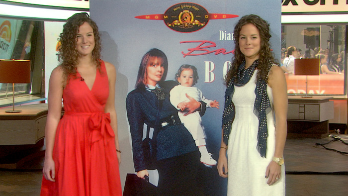 """Michelle and Kristina Kennedy, all grown up from their """"Baby Boom"""" days."""