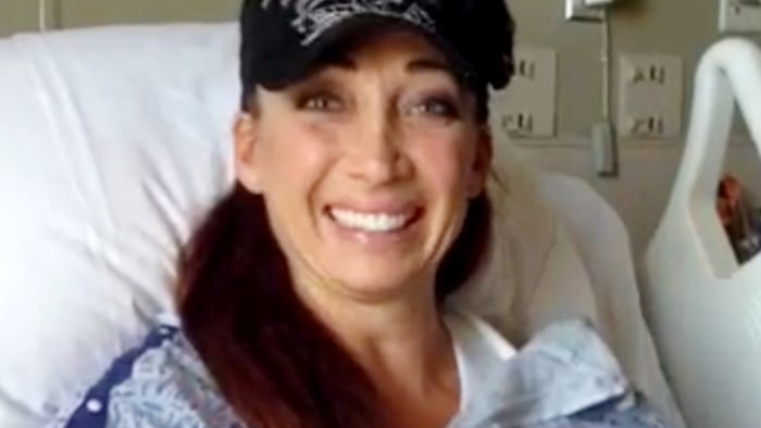 Olympic gold medalist Amy Van Dyken-Rouen thanks TODAY viewers in a new video.