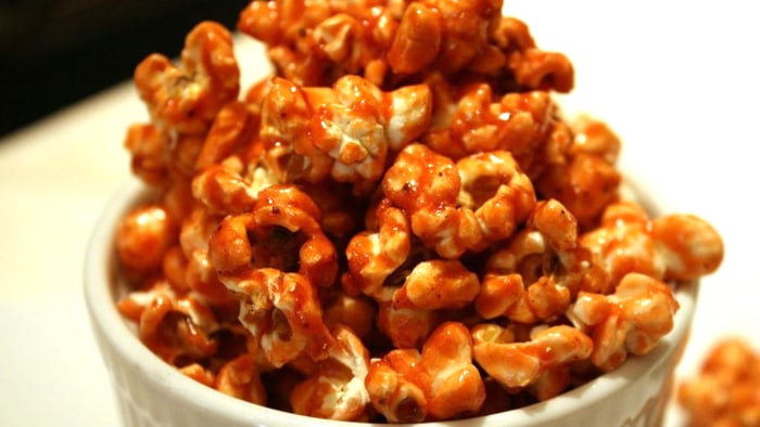 Negroni popcorn