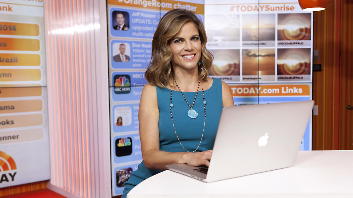 Natalie Morales participated in a live Facebook chat with TODAY viewers on Thursday morning.
