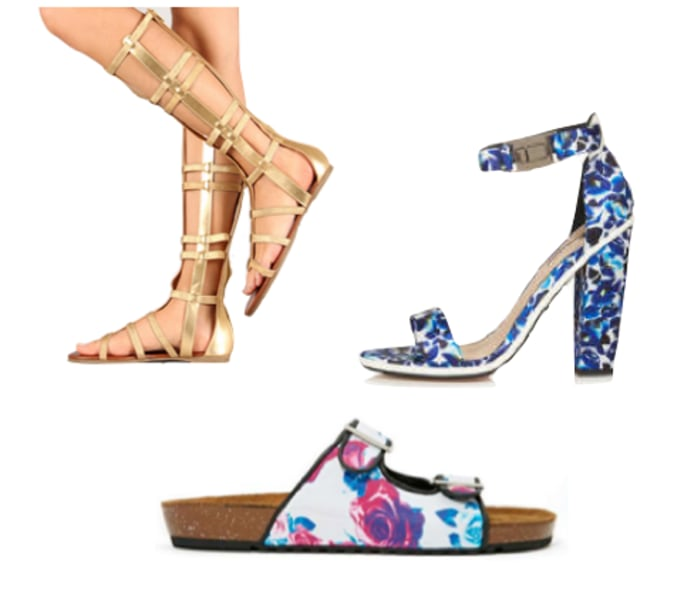 Flat sandals, featured on the TODAY Style segment