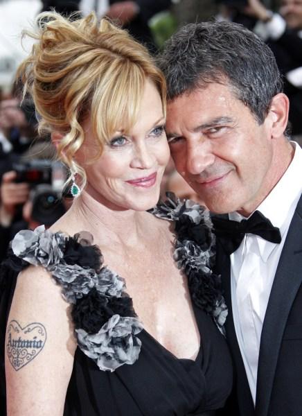 Image: Antonio Banderas and Melanie Griffith