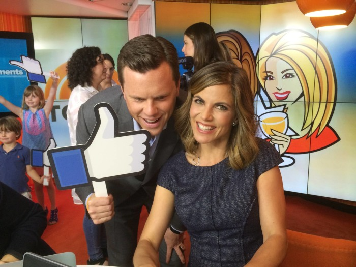 Willie Geist and Natalie Morales