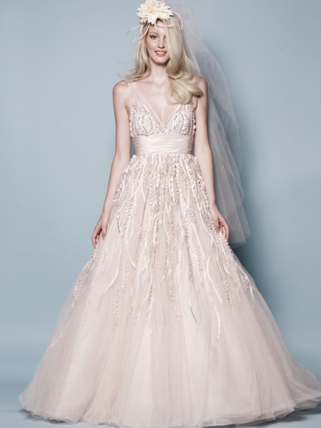 colored wedding dresses