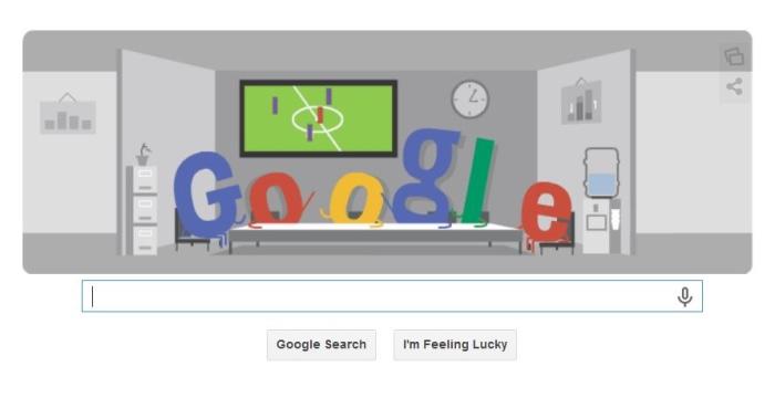 Google Doodle cheer