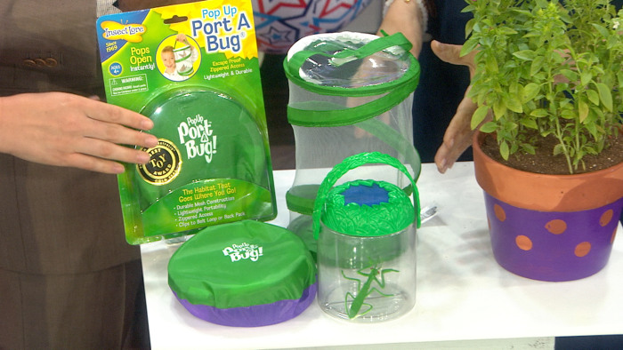 The Insect Lore Pop-Up Port-a-Bug is a cool, inexpensive gift for nature-loving kids. Just be sure to let the bugs go!