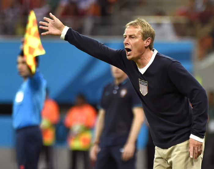 U.S. coach Jurgen Klinsmann would certainly approve of watching the game by any means necessary.