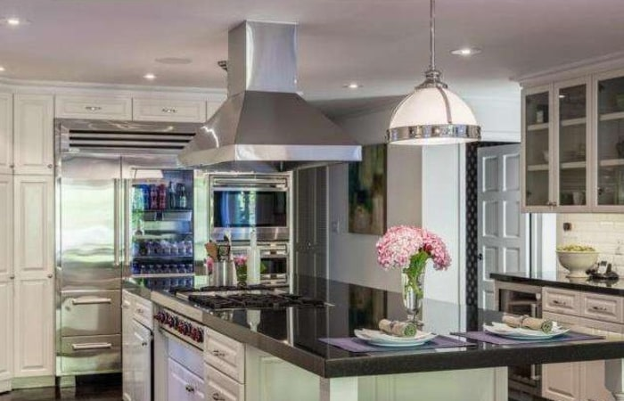 Neil Patrick Harris' Sherman Oaks home has a kitchen suitable for his chef partner, David Burtka.