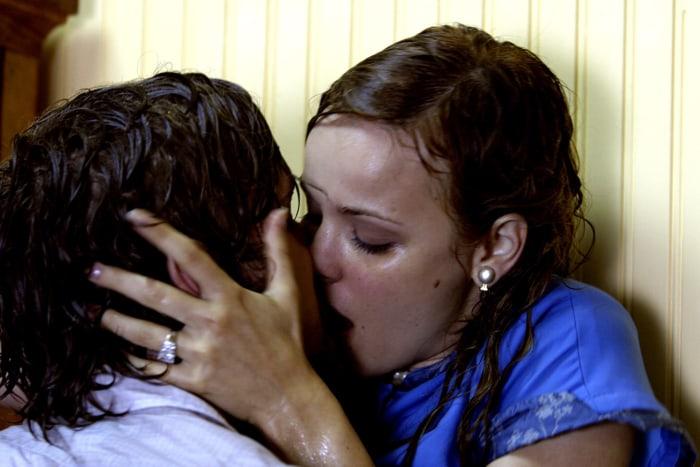 "Ryan Gosling and Rachel McAdams in 2004's ""The Notebook."""