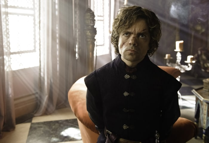 Image: Tyrion on 'Game of Thrones'
