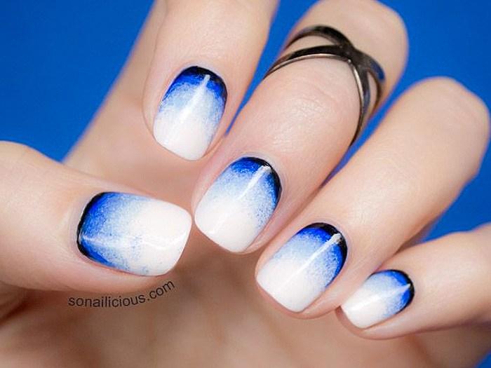 4th July Nail Art - NailArts Ideas