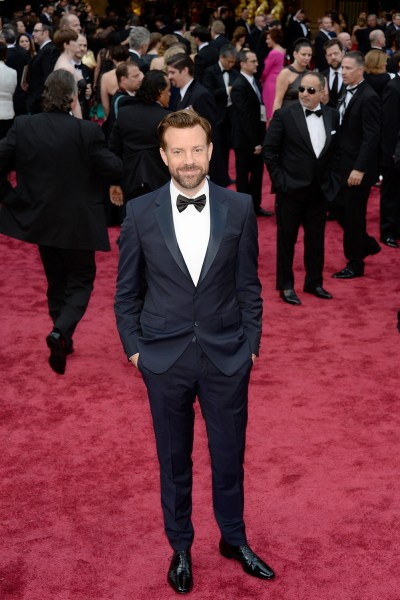 HOLLYWOOD, CA - MARCH 02:  Actor Jason Sudeikis attends the Oscars held at Hollywood & Highland Center on March 2, 2014 in Hollywood, California.  (Ph...