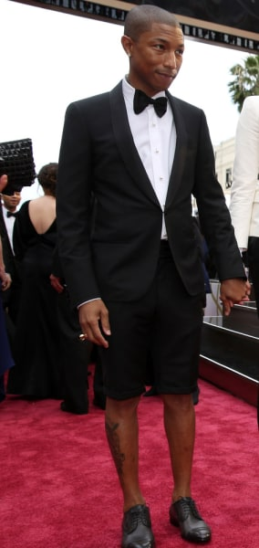 Pharrell's shorts, Travolta's gibberish and, of course ...