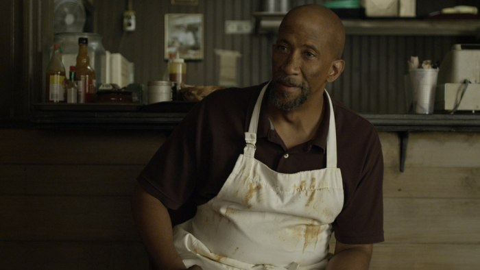 "Reg E. Cathey plays Freddy Hayes, owner of Freddy's Ribs, on ""House of Cards."""