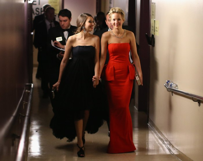 Image: Jennifer Lawrence and Laura Simpson