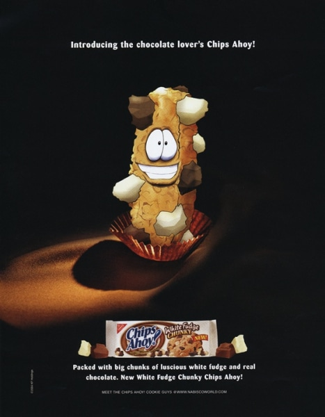In 2004 Cookie Guy becomes a cookie