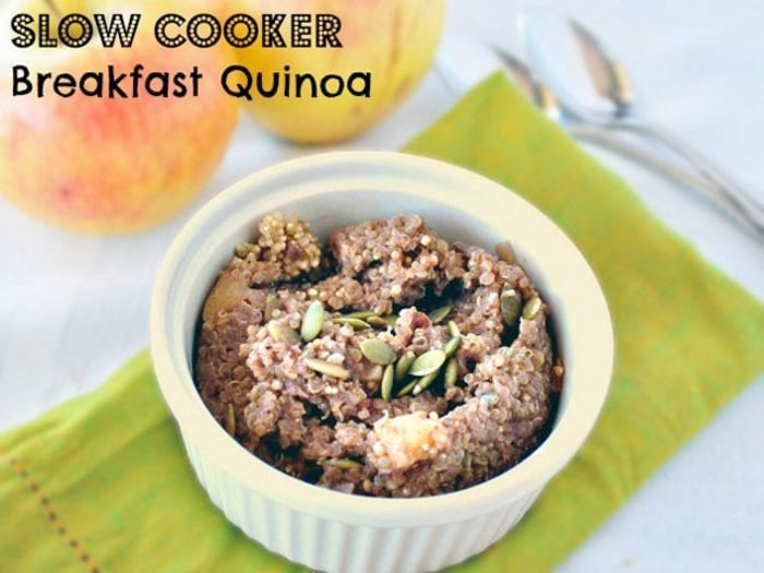 Slow Cooker Breakfast Quinoa