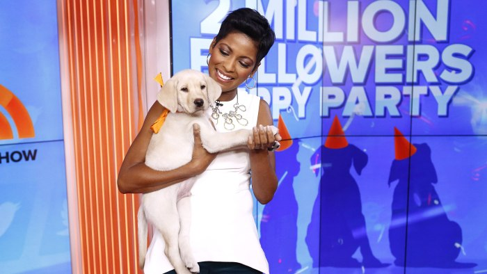 "TODAY -- Pictured: Tamron Hall appears on NBC News' ""Today"" show -- (Photo by: Peter Kramer/NBC/NBC NewsWire)"