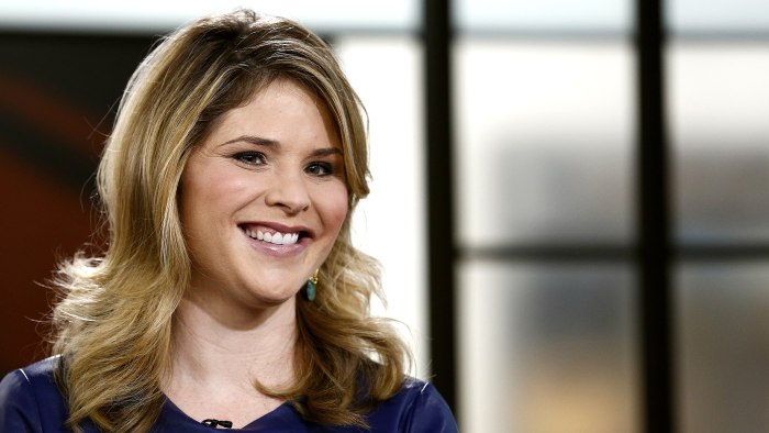 "TODAY -- Pictured: Jenna Bush Hager appears on NBC News' ""Today"" show -- (Photo by: Peter Kramer/NBC/NBC NewsWire)"