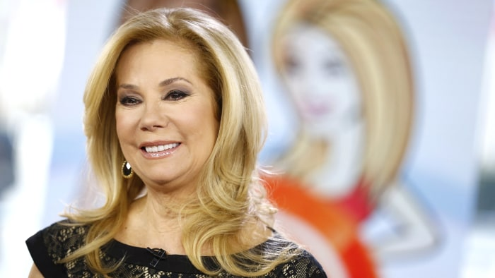 "TODAY -- Pictured: Kathie Lee Gifford appears on NBC News' ""Today"" show -- (Photo by: Peter Kramer/NBC/NBC NewsWire)"