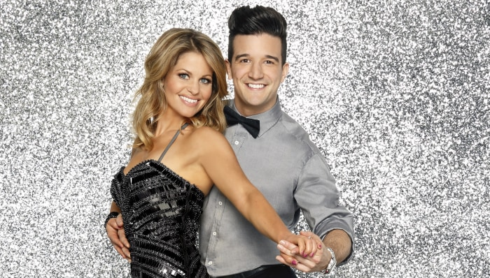 Image: Candace Cameron Bure and Mark Ballas.