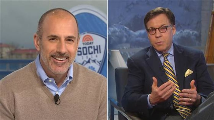 Matt Lauer's beard goes to Sochi