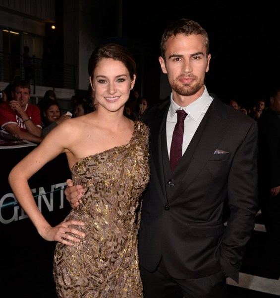 Image: Shailene Woodley and Theo James
