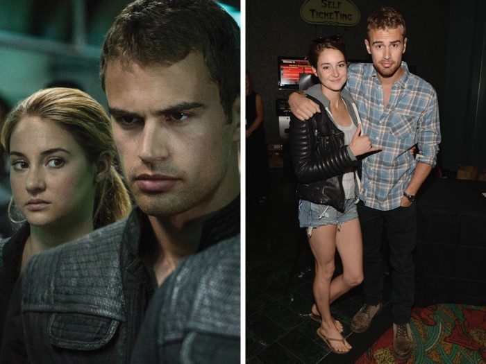 Image: Shailene Woodley, Theo James