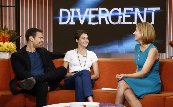 Image: Theo James, Shailene Woodley