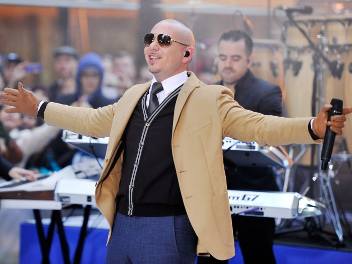 Mark your calendars! Pitbull will be performing his big hits live on TODAY on March 31.