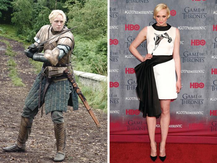 Image: Gwendoline Christie as Brienne of Tarth