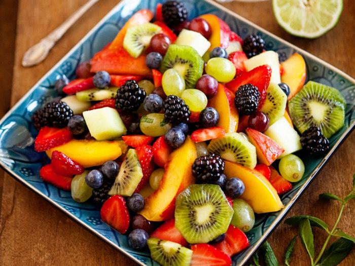 Stacey Little's fresh fruit salad