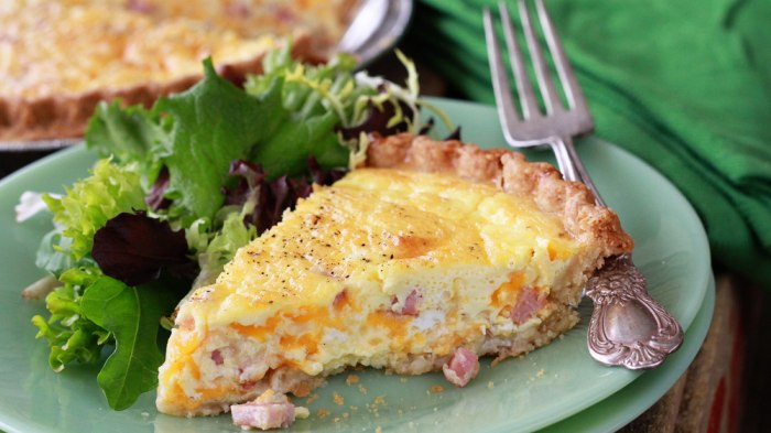 Stacey Little's easy quiche