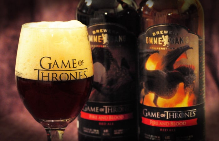 Drink for dragon fire! Drinking game with 'Game of Thrones'-inspired brew