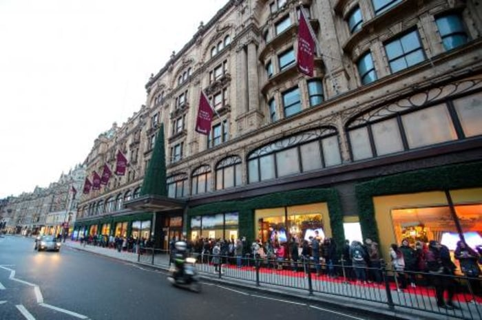 London, home to the famed Harrods department store, is the favored home of billionaires, a survey finds.