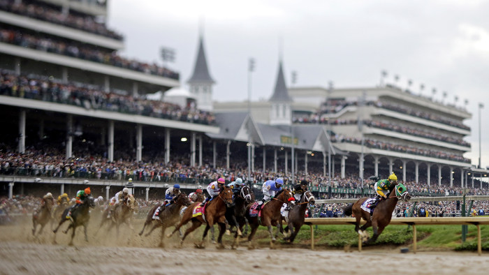 The 140th running of the Kentucky Derby will be held Saturday at Churchill Downs in Lexington.