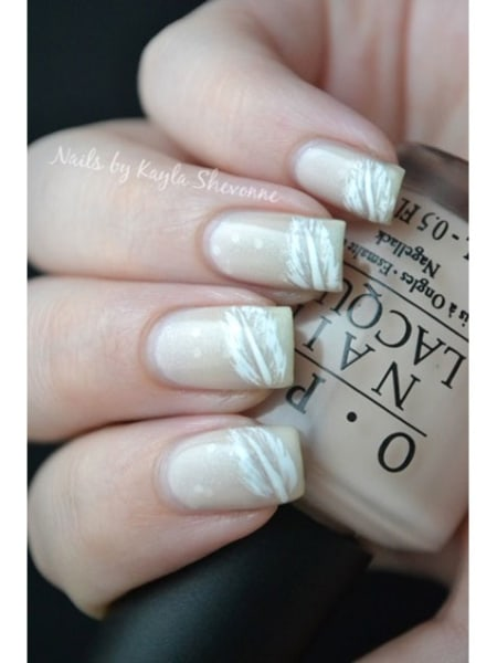 Bohemian Feather Nails