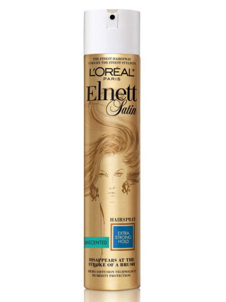 best hair care, best hairspray, elnett unscented