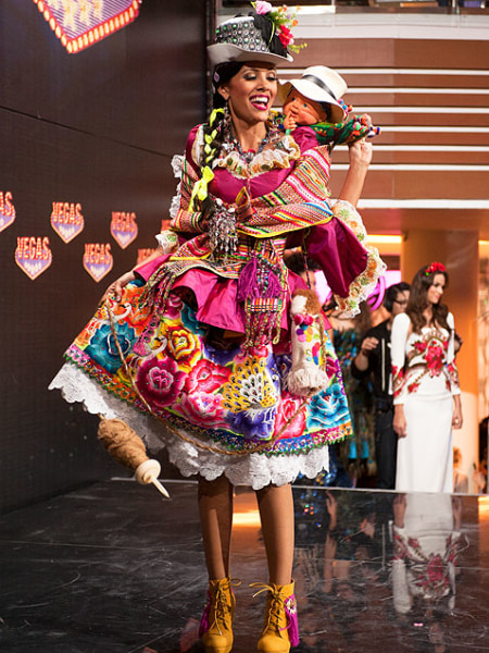 Cindy Mejia - Miss Peru