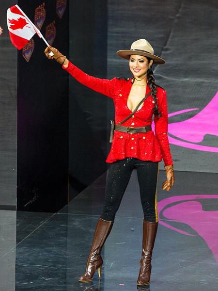 Riza Santos - Miss Canada