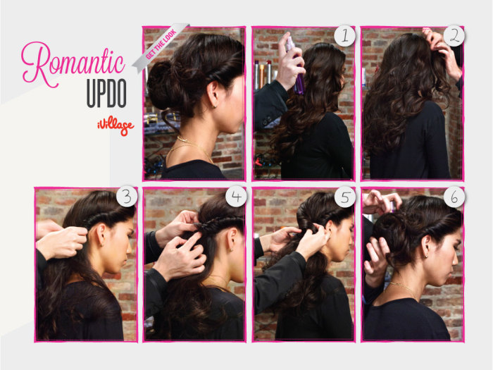 DIY Hairstyle - Romantic Updo